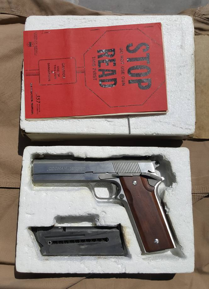 WTS - FS: Houston  Coonan Arms Model A  357 mag Pistol